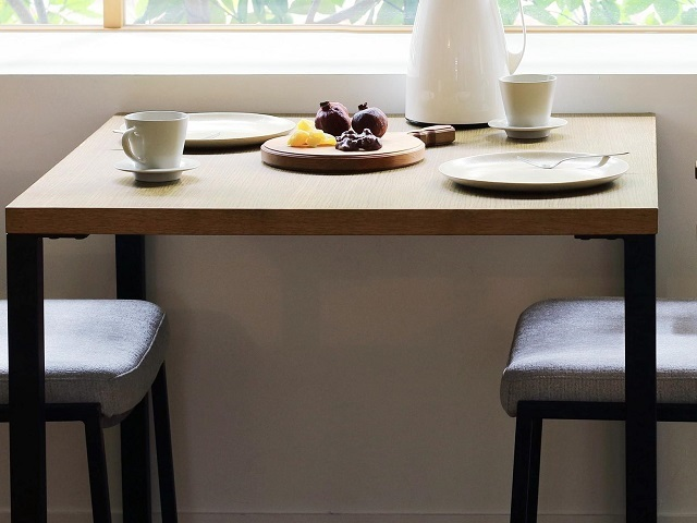 karla dining table カーラ ダイニングテーブル SIEVE シーブ/オーク スチール脚