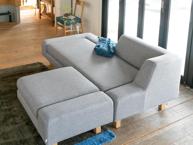 shift sofa シフトソファ SIEVE シーブ カバーリング ロータイプ 固め 3P 開梱設置無料