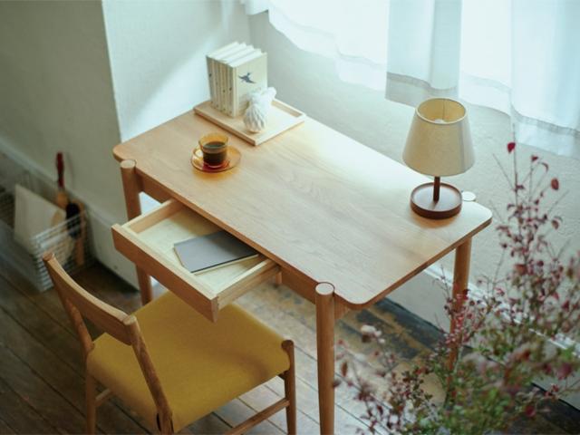 dent table S desk デント テーブル SIEVE シーブ オーク 1000 デスク