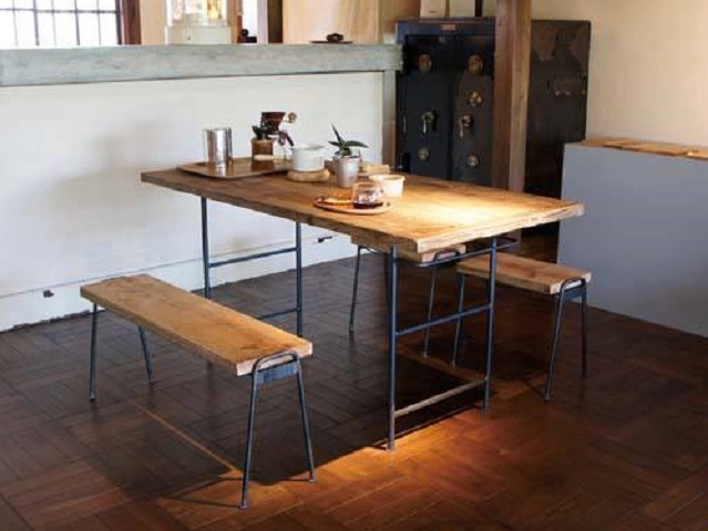 FACT ファクト L WORK TABLE 1200/1400 ワークテーブル