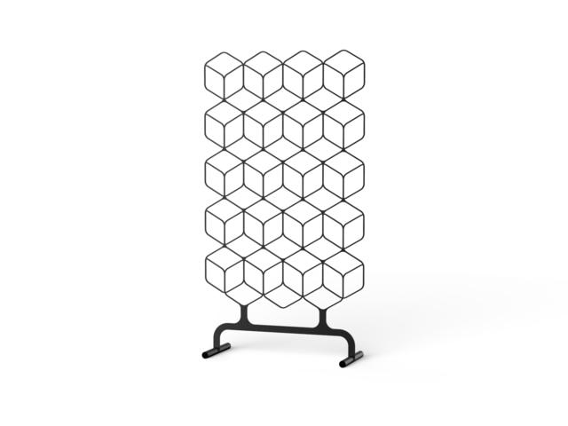 Fe Floor Deco フロアデコ オブジェスタンド 杉山製作所/アイアン/間仕切り