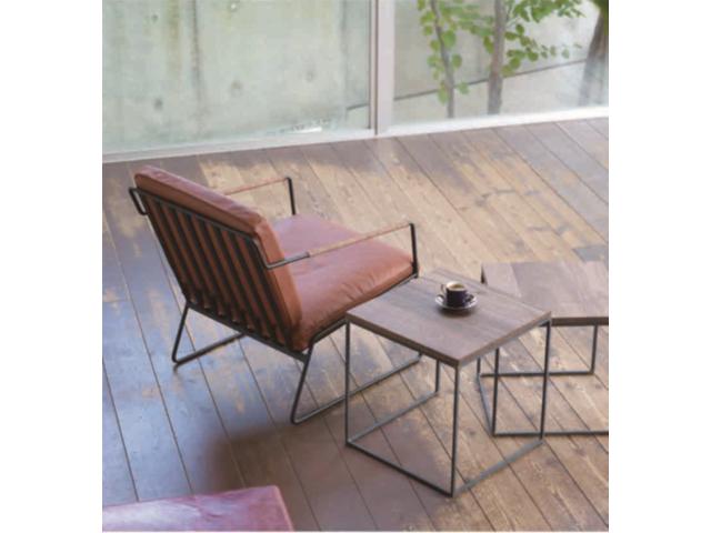 クロテツ SHIN ネストテーブル380 杉山製作所/サイドテーブル アイアン