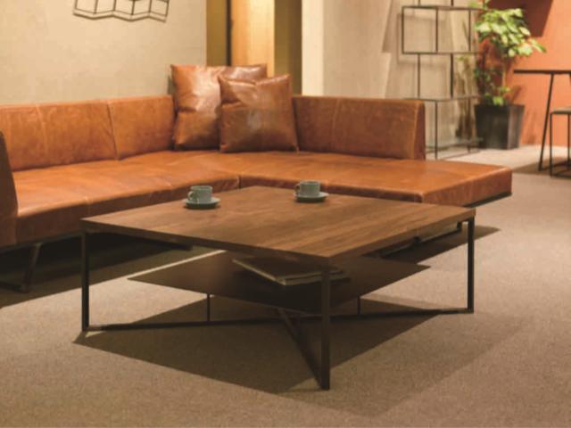クロテツ SUMI リビングテーブル 900/1000 杉山製作所/センターテーブル アイアン