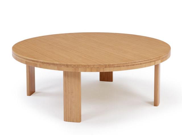 ちゃぶ台 リビングテーブル 円形 900 1050 1200 TEORI テオリ 和 折りたたみ