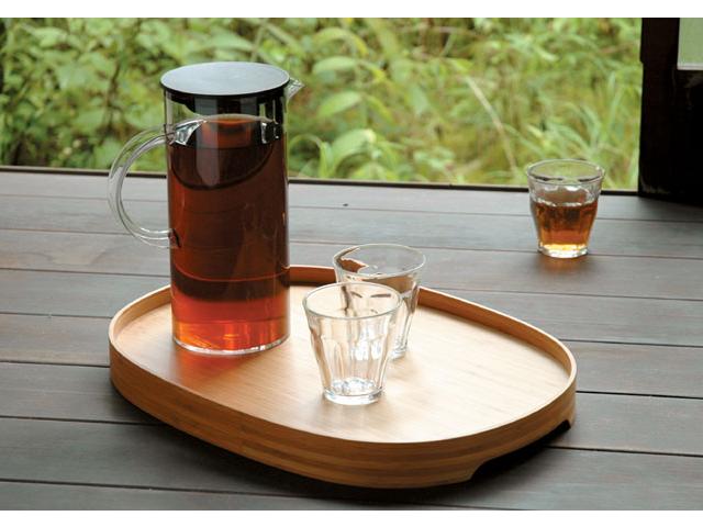 BON ボン TEORI テオリ 竹 和 お盆 食卓 円形 軽量