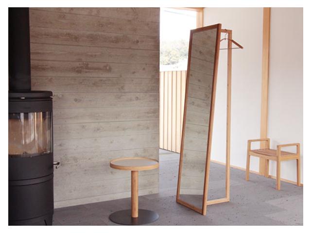 AND MIRROR アンドミラー TEORI テオリ 竹 和 コートハンガー 鏡 姿見 シンプル