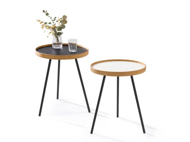 EN TRAY TABLE エントレイテーブル TEORI テオリ 和 サイドテーブル ラウンド