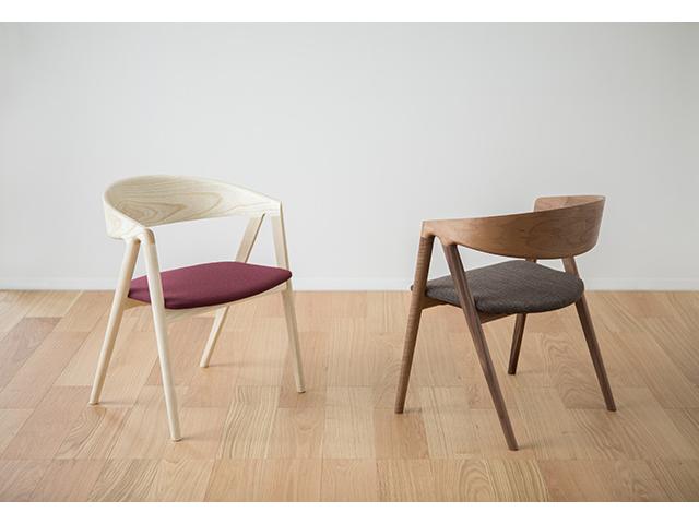 HARP チェア イストク 椅子徳製作所 チェア ラウンドフレーム 山田佳一朗 木製