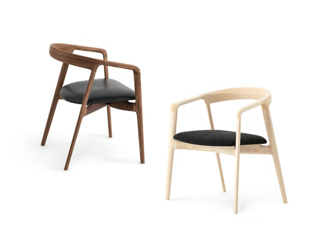 GAZELLE チェア イストク 椅子徳製作所 チェア ラウンドフレーム 山田佳一朗 木製