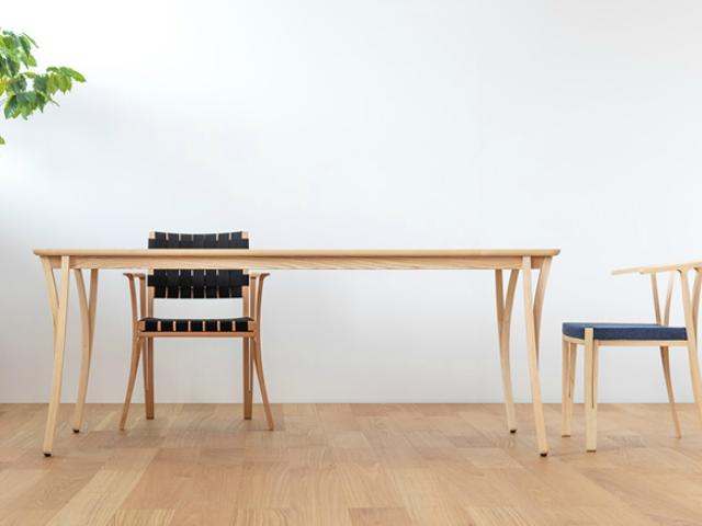BRANCH ブランチ チェア イストク 椅子徳製作所 チェア アクリルテープ 山田佳一朗 木製 軽い