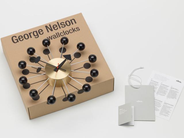 Ball Clock ボールクロック vitra ヴィトラ ジョージネルソン George Nelson 掛け時計