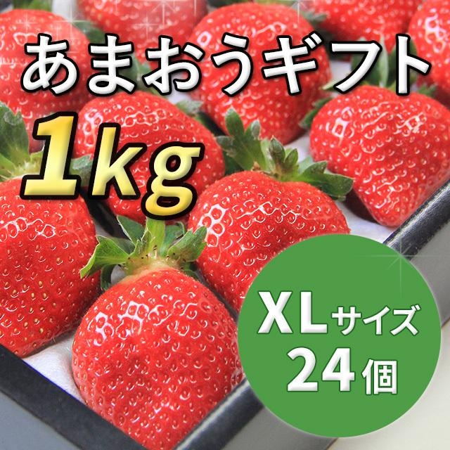 あまおうギフト XLサイズ 1kg入り (12月から順次配送)