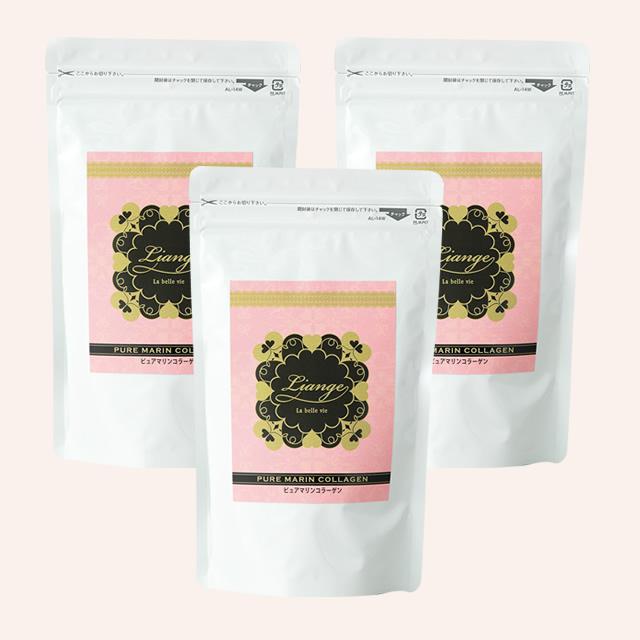 PURE MARIN COLLAGEN(ピュアマリンコラーゲン)3袋