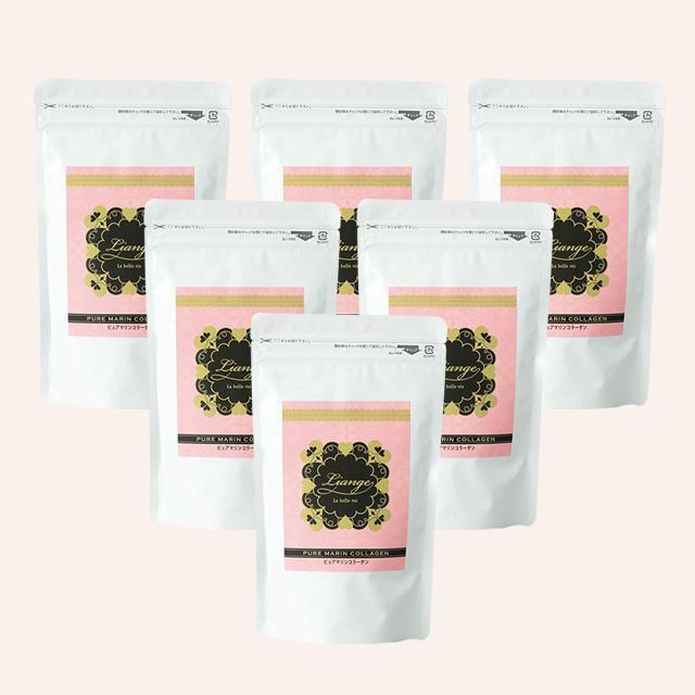 PURE MARIN COLLAGEN(ピュアマリンコラーゲン)6袋