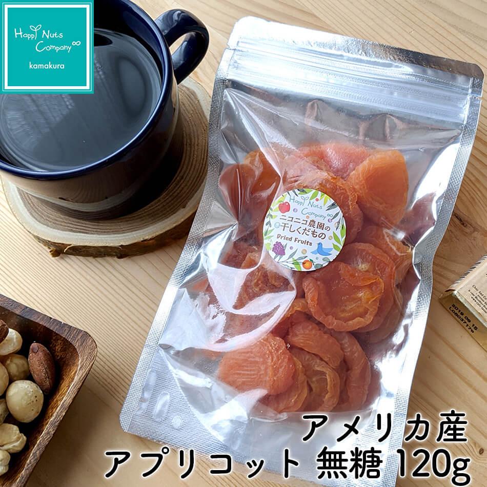 アプリコット ドライフルーツ 栄養 アメリカ産 無糖 120g