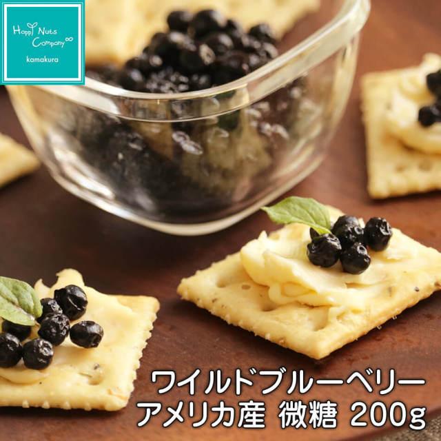 アメリカ産 ワイルドブルーベリー 微糖