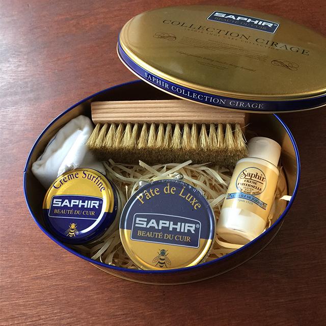 SAPHIR(サフィール)シューケアセット3200ニュートラル