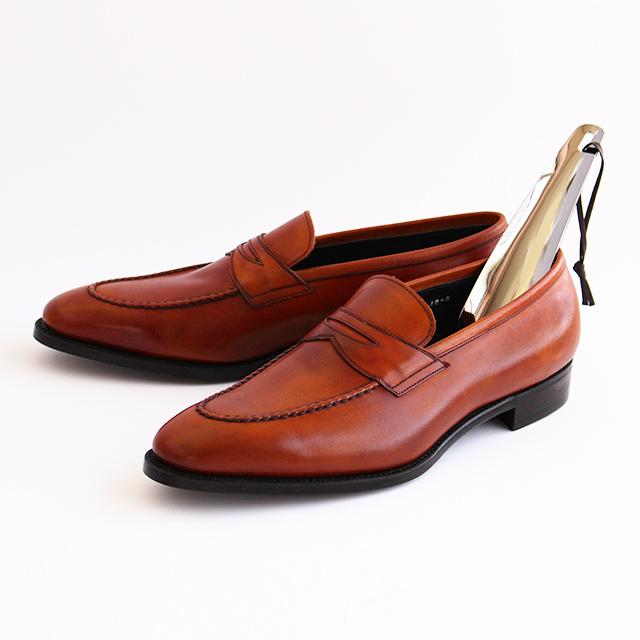 革ひも付きのお洒落な靴べら