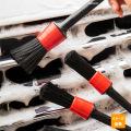 洗車/パーツ/ホイール/トリムやエンブレムなど細かい部分の汚れを取り除くブラシ 5本セット