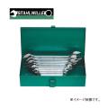 スタビレー(STAHLWILLE) スパナレンチメタルケースセット[ミリ] 10/8K