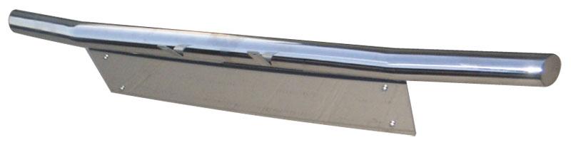 ジムニーJA12/22用 60φ曲げフロントバンパースキッドプレート付