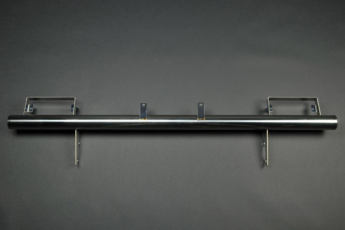 ジムニーJA11用 ステンレスストレートバンパー(フロント)