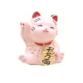 招き猫(ピンク) 宝石箱・小物入れ