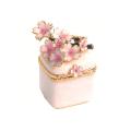 小枝桜(ホワイト) 宝石箱・小物入れ