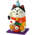concombre 万福まねき猫(フェルトマット付き)