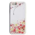蒔絵iPhone5専用ケース(カバー) スワロフスキー花束(白)