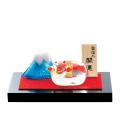 「宝丑(うし)と富士山」金箔入
