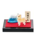 子犬と富士山
