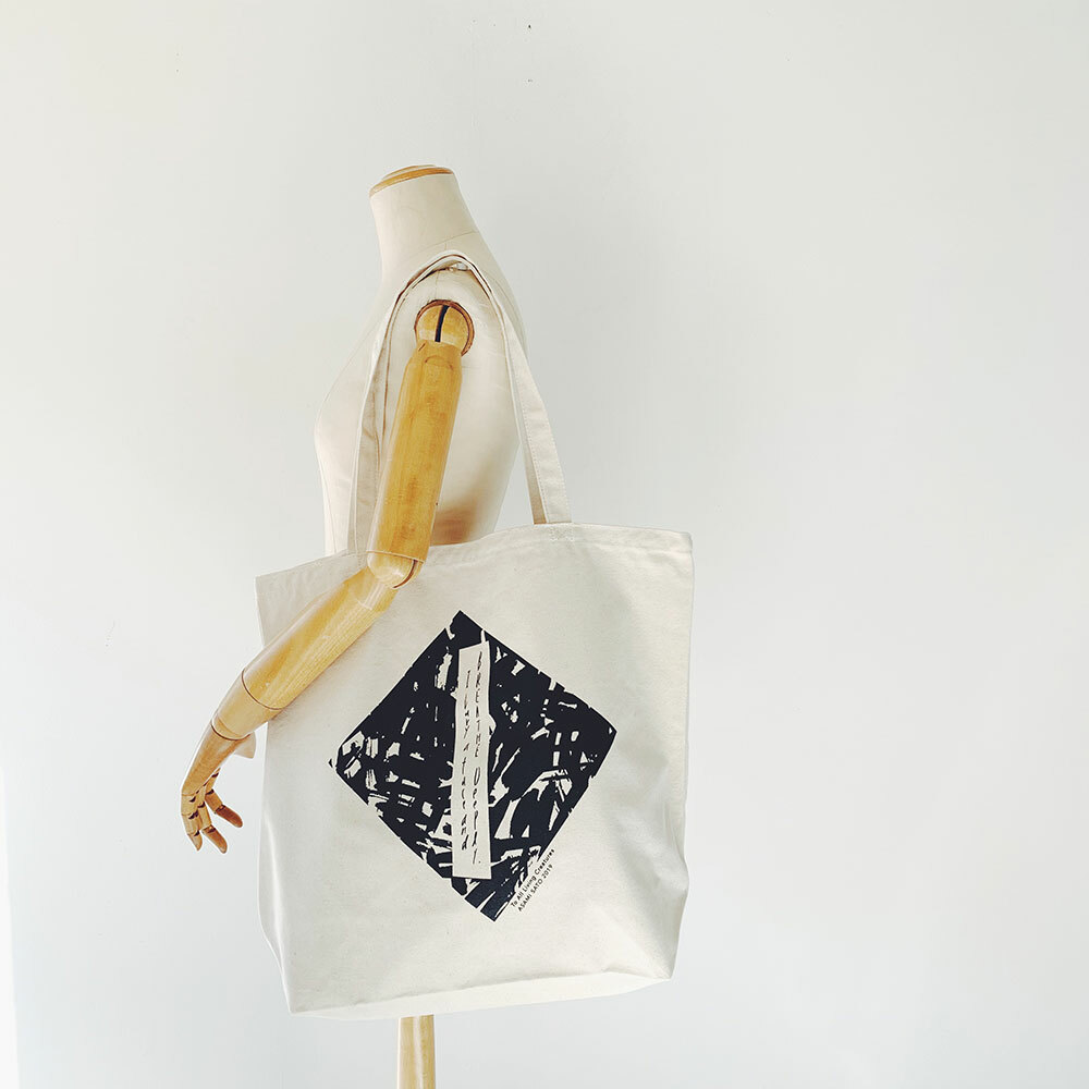 ARTCO.LAB  Eco Bag《 I bury a face and breathe deeply 》