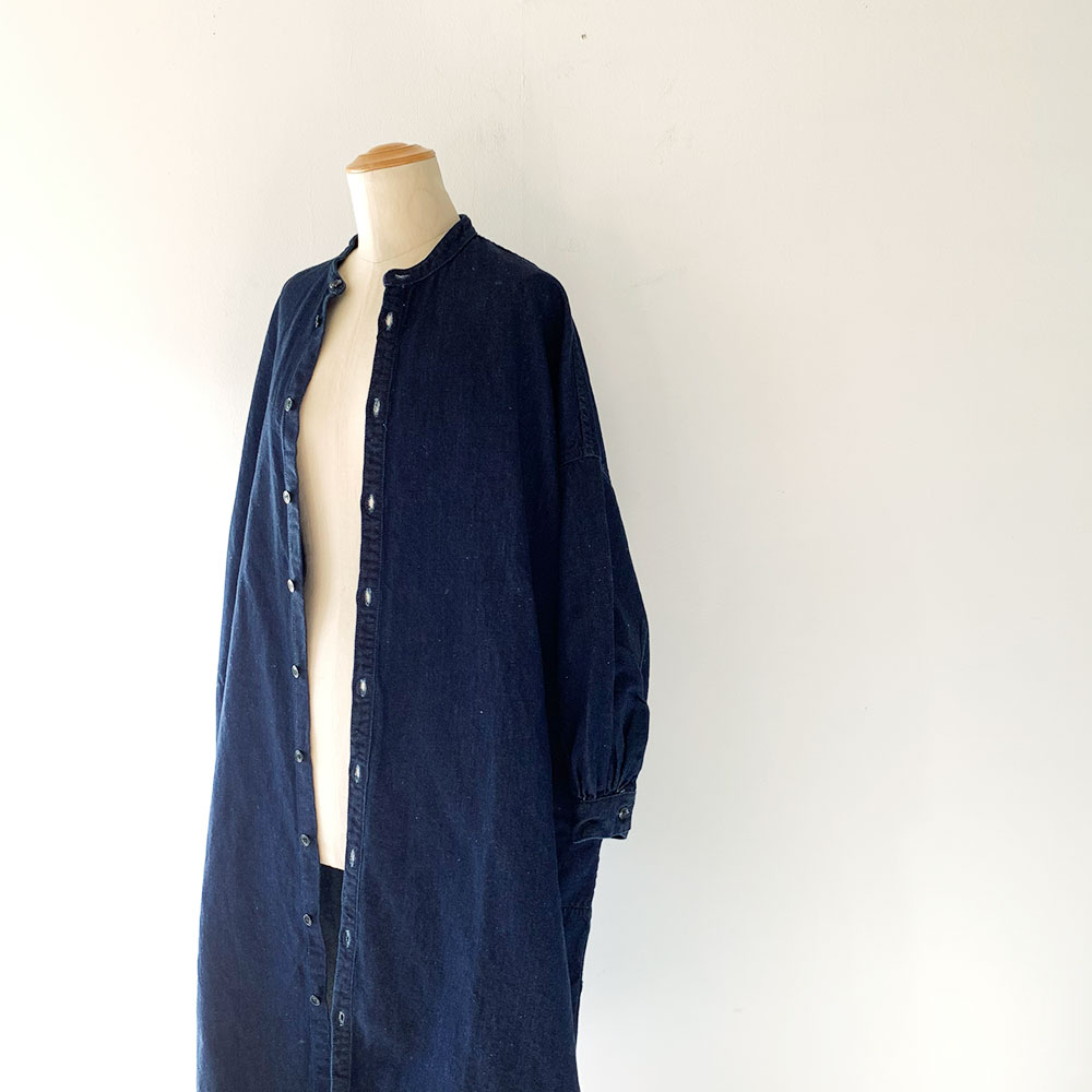 Linendenim Shirtdress