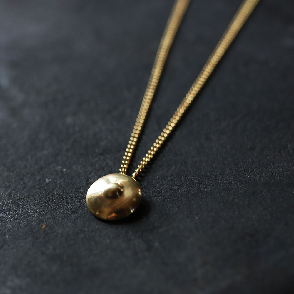COAS  Brass Necklace