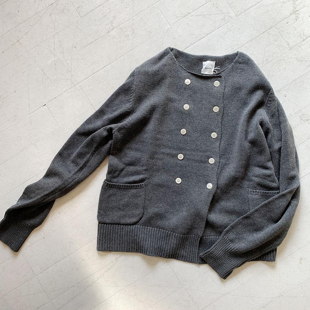 Cotton Cashmere Knit Jacket