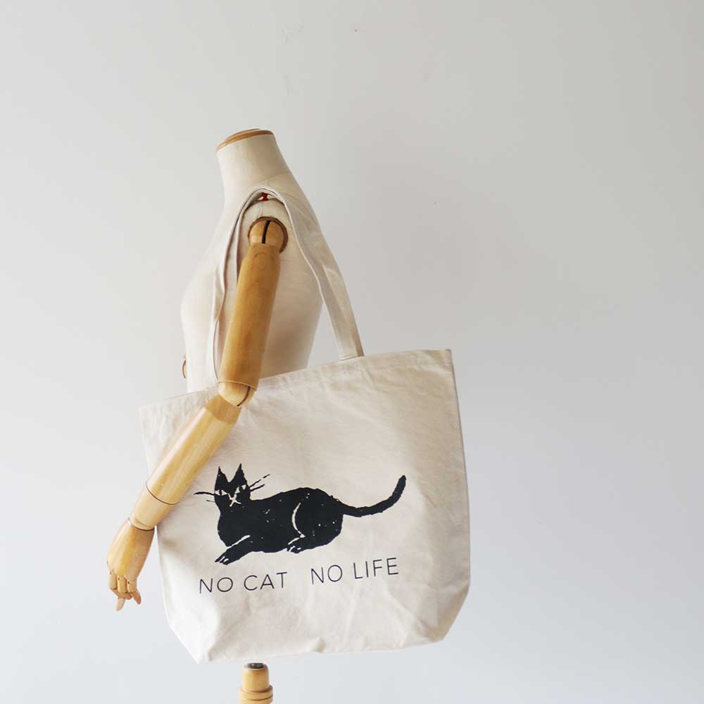 Eco Bag  《 NO CAT NO LIFE 》