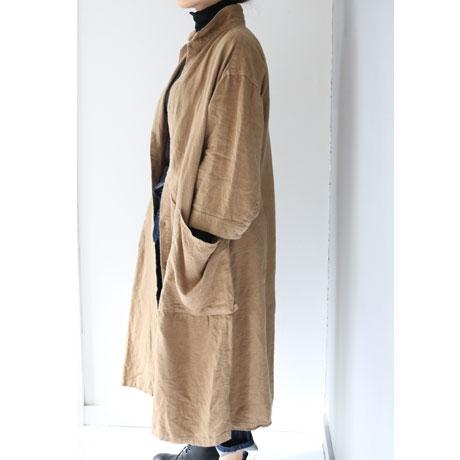 Fluffy Linen O/P Coat