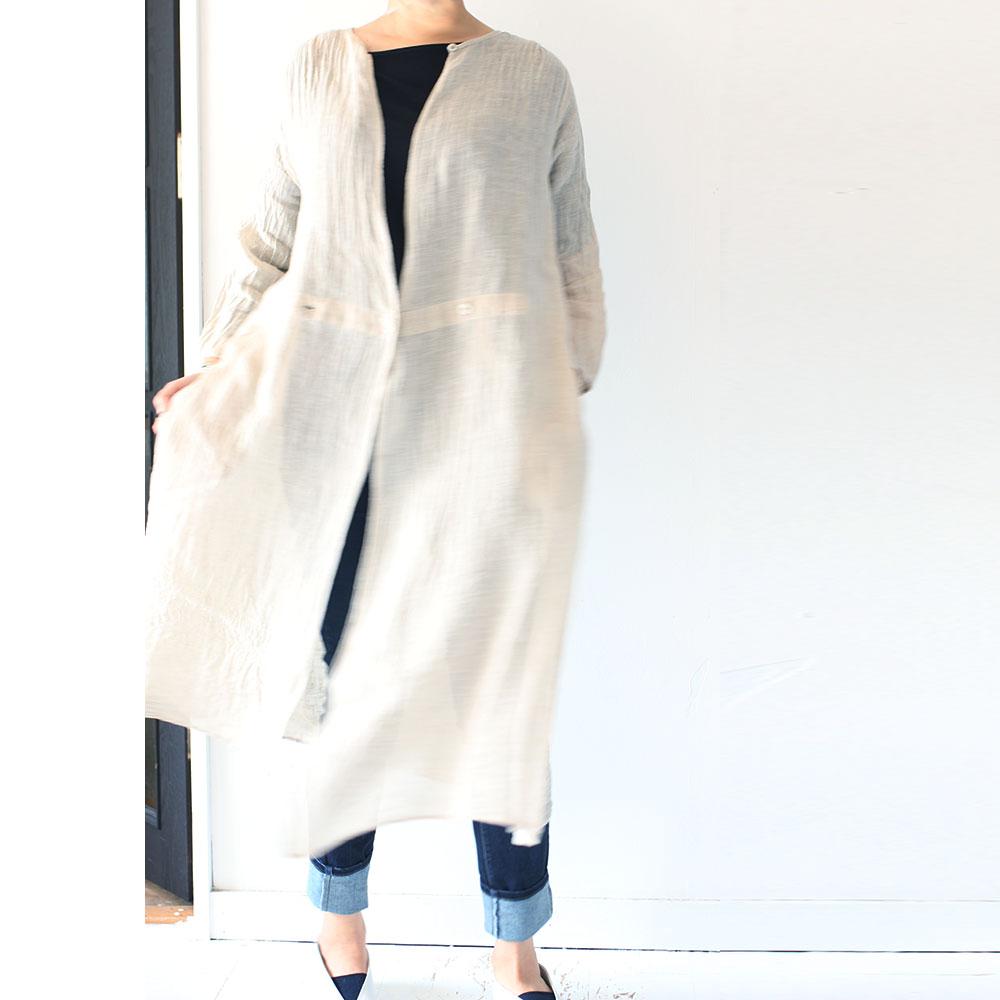 Cache-coeur Linen O/P