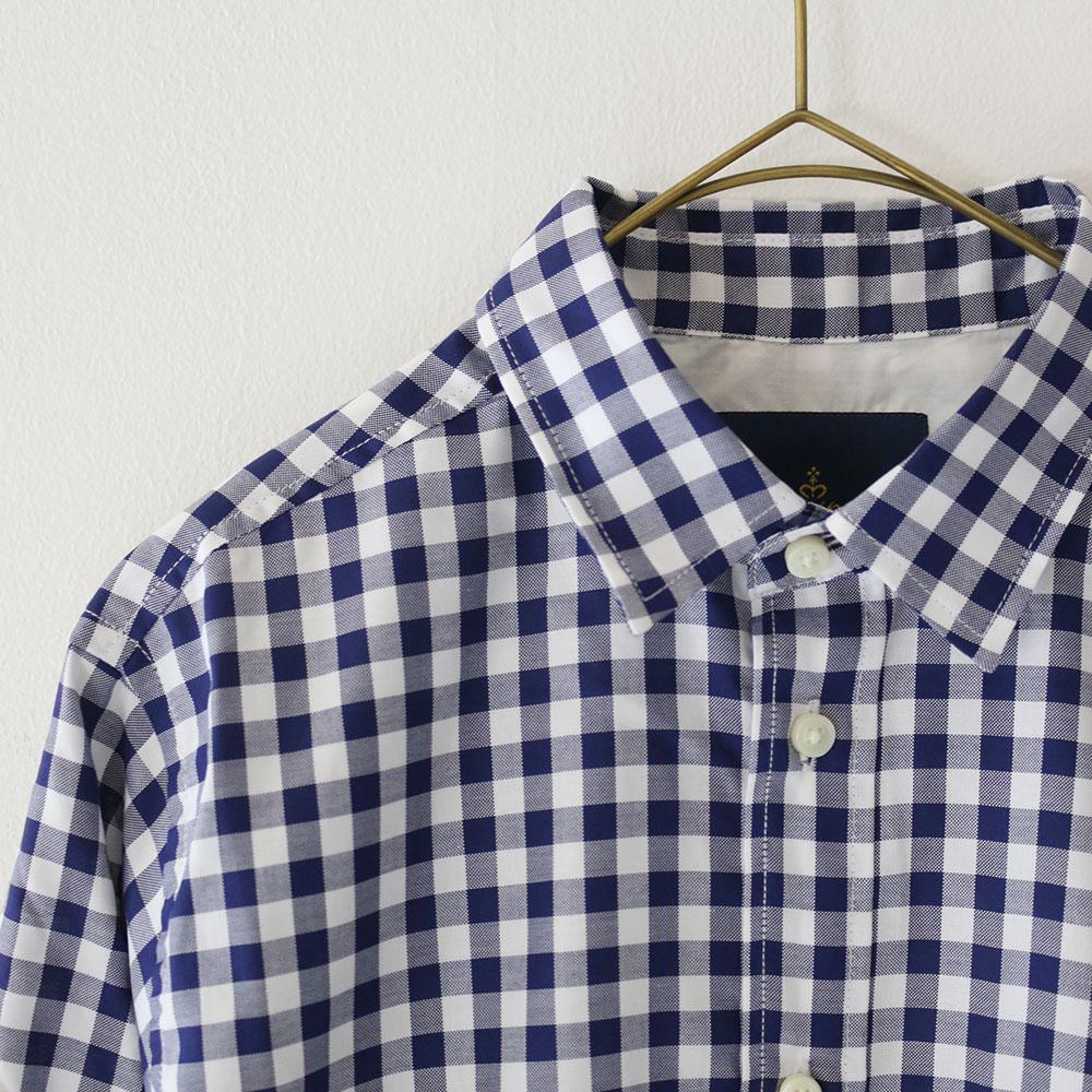 Regular Collar Check Shirts