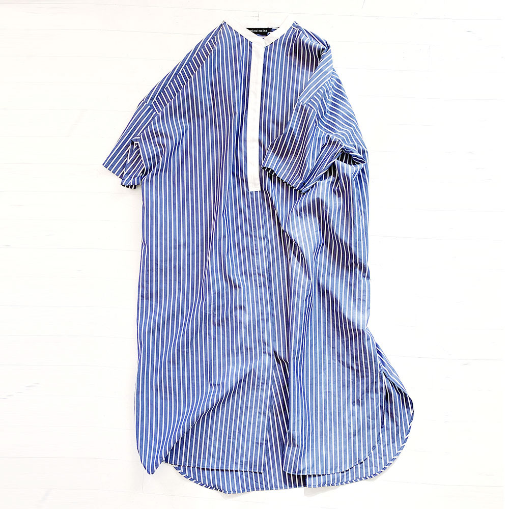 Stripe Wide Shirts O/P