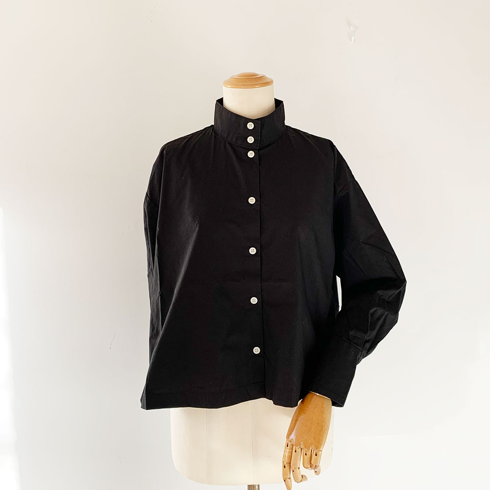 Okkake Shirts Stripe&Black