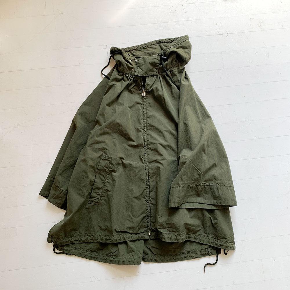 Gather Poncho Coat