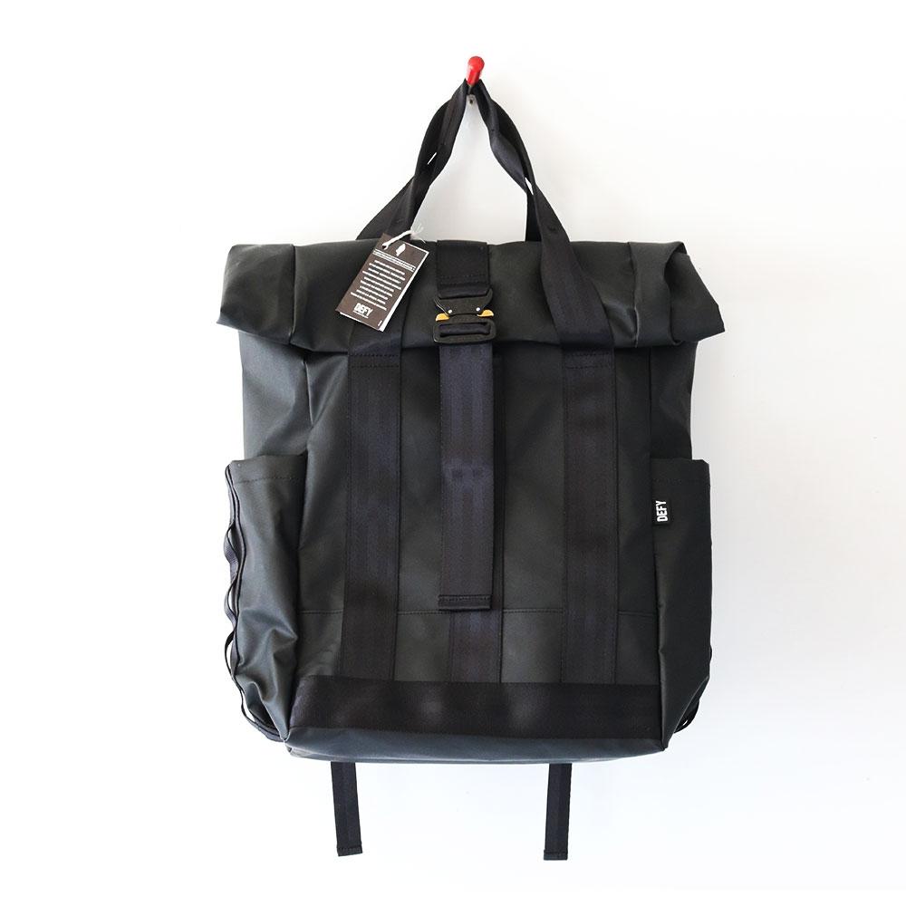 DEFY BAGS  VerBockle Rolltop Backpack - M35 Military Tarp
