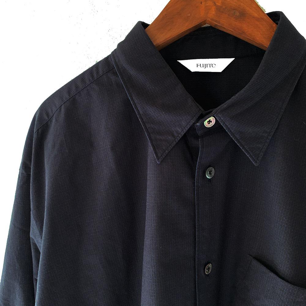 FUJITO  B/S Collar Shirt (Mens)