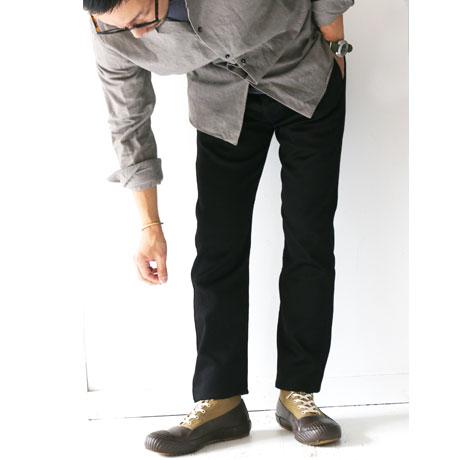 W Classic Pique Slim Slacks (Mens)