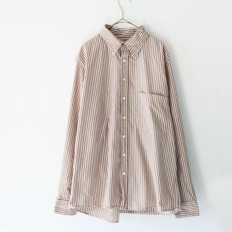 European Cotton Stripe Retro Shirt (Mens)