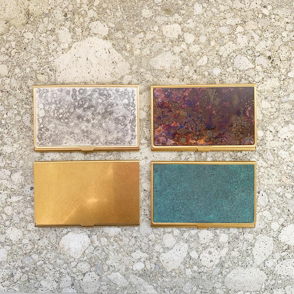 Brass+Brass Card Case