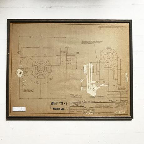 Vintage Drawing Frame 《D》