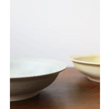 型染め 7寸リム鉢 // 徳山久見子